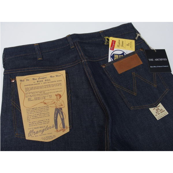 Wrangler Archives Real Vintage[11MW/1948 Model] 3