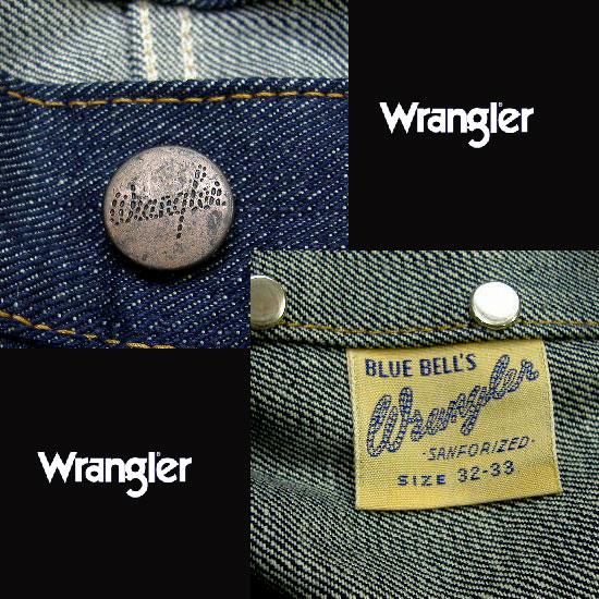 Wrangler(ラングラー)Real Vintage 1947モデル(後期)11MWジーンズ