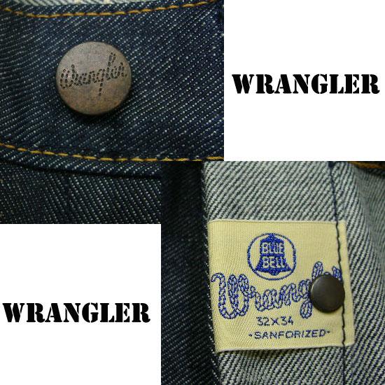 Wrangler(ラングラー)Real Vintage 52モデル11MWデニムジーンズ
