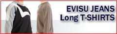 EVISU ロングTシャツ
