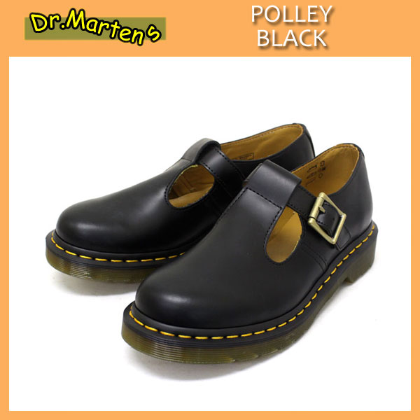 dr martens polley black three wood. Black Bedroom Furniture Sets. Home Design Ideas