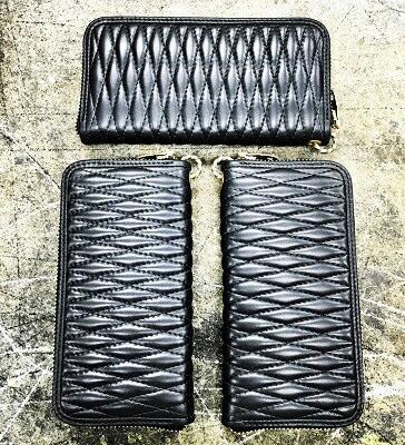 BACK DROP Leathers ZIP WALLET+TWIST RING(バックドロップレザーズ・ジップウォレット サイフ・ツインリング)