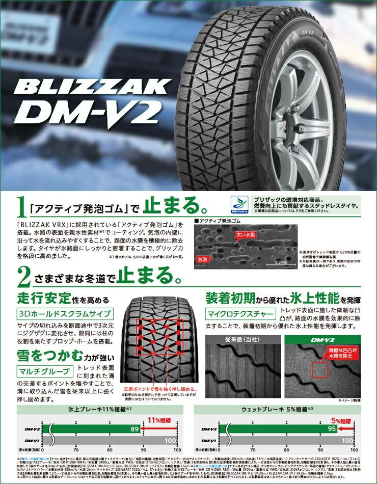 Bridgestone BLIZZAK DM-V2 Winter Radial Tire 275//45R20 110T