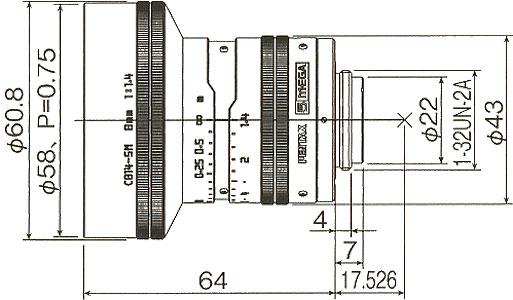 C814-5M寸法図