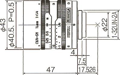 C1614-5M寸法図