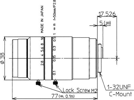 LM50JC10M寸法図