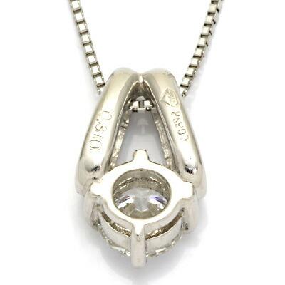 PT900/PT850 ダイヤモンドネックレス D0.31 プラチナ