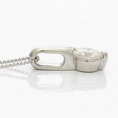 ◎PT900/PT850 ダイヤモンドネックレス D0.70 プラチナ