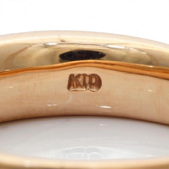 K10PG リング 指輪 ダイヤモンド D0.09 10金 ピンクゴールド