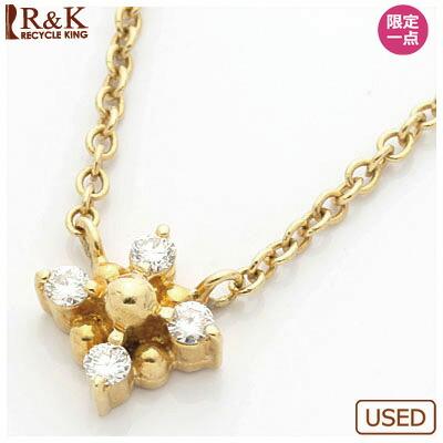K18 ネックレス ダイヤモンド 18金