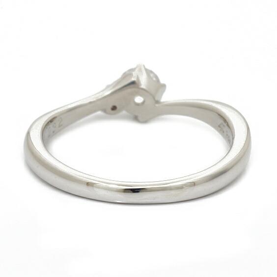 PT950 リング 指輪 ダイヤモンド D0.232 11号 プラチナ