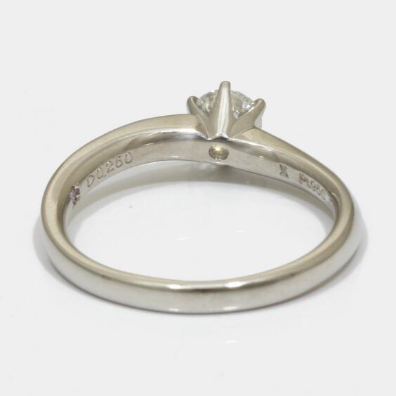 VENDOME AOYAMA リング 指輪 PT950 ダイヤモンド D0.260 6.5号 鑑定書付 プラチナ ヴァンドーム青山