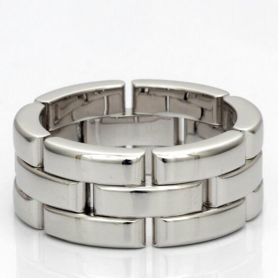 Cartier リング 指輪 K18WG 18金 マイヨンパンテール #50 9.5号 カルティエ 18K sharel