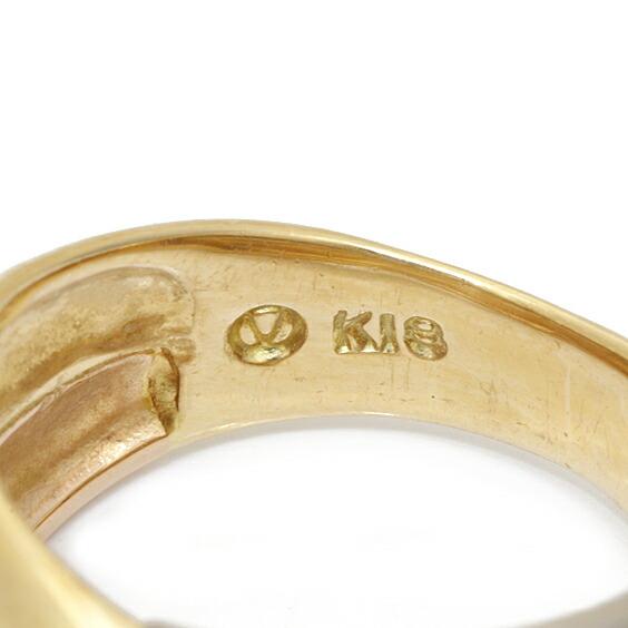K18 K18WG K18PG ピンキーリング 指輪 3カラー 5号 18金 ゴールド ホワイトゴールド ピンクゴールド 18K