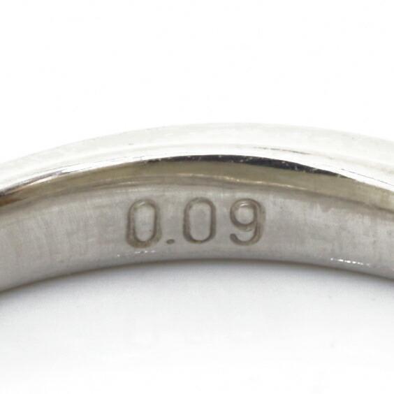 PT900 リング 指輪 ダイヤモンド D0.09 9号 プラチナ