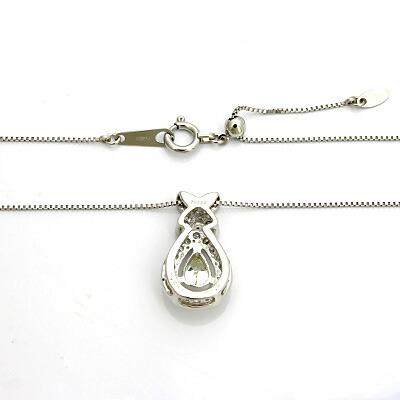 ◎PT900/PT850 ダイヤモンドネックレス D0.244/0.20 プラチナ
