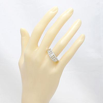 ◎PT900 ダイヤモンドリング D1.06 プラチナ