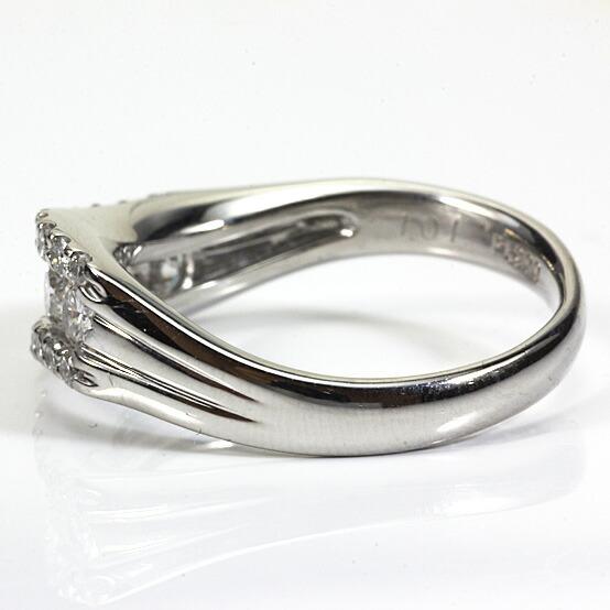 ◎PT900 ダイヤモンドリング D1.01 プラチナ