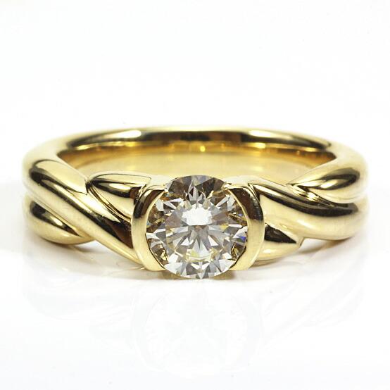 ◎K18 ダイヤモンドリング D0.83 18金
