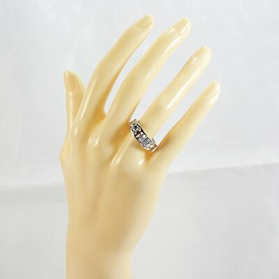 ◎PT900 ダイヤモンドリング D0.375/D0.20 プラチナ
