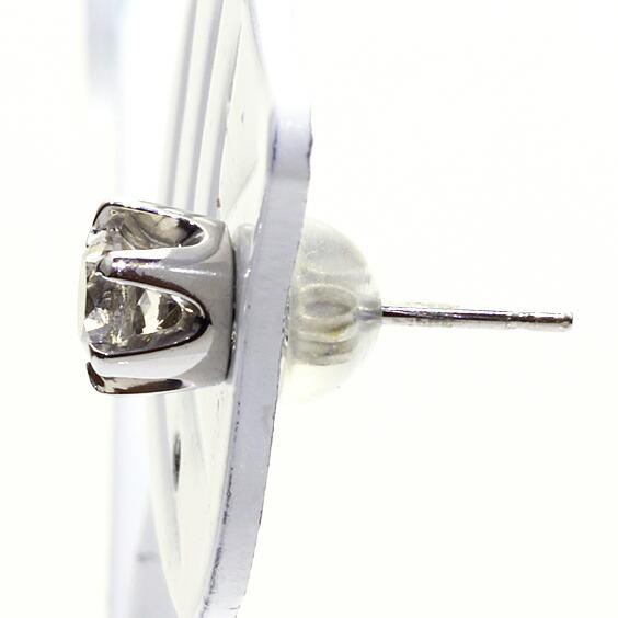PT900 ダイヤモンドピアス D0.40 プラチナ