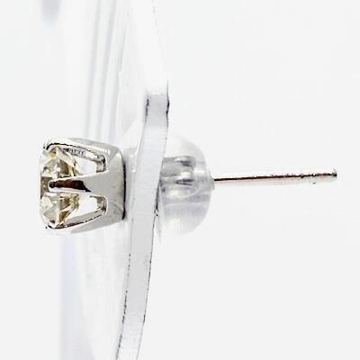 ◎PT900 ダイヤモンドピアス D0.51 スタッドピアス プラチナ