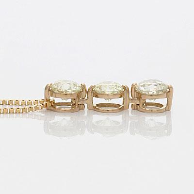 ◎K18PG ダイヤモンドネックレス D1.00 18金ピンクゴールド