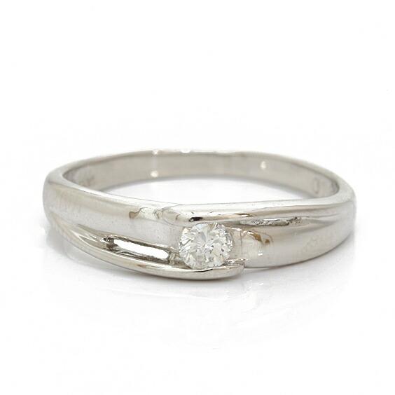 PT900 リング 指輪 ダイヤモンド D0.10 8号 プラチナ
