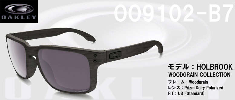 fc8d6a916c Oakley Oo9102 Holbrook Prizm Daily Woodgrain Collection - Bitterroot ...