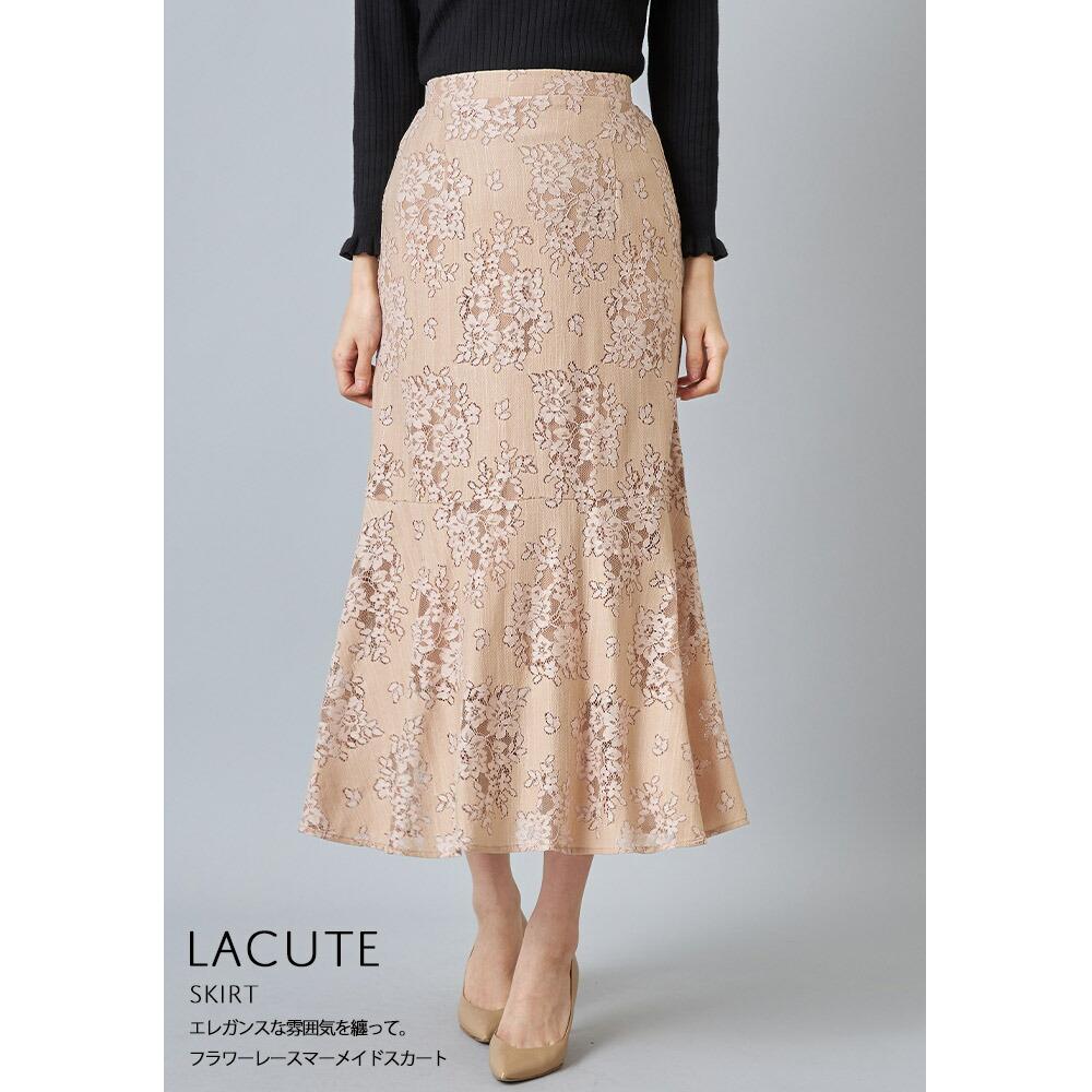 艶めきが印象的なアクセントに◎ベロアプリーツスカート