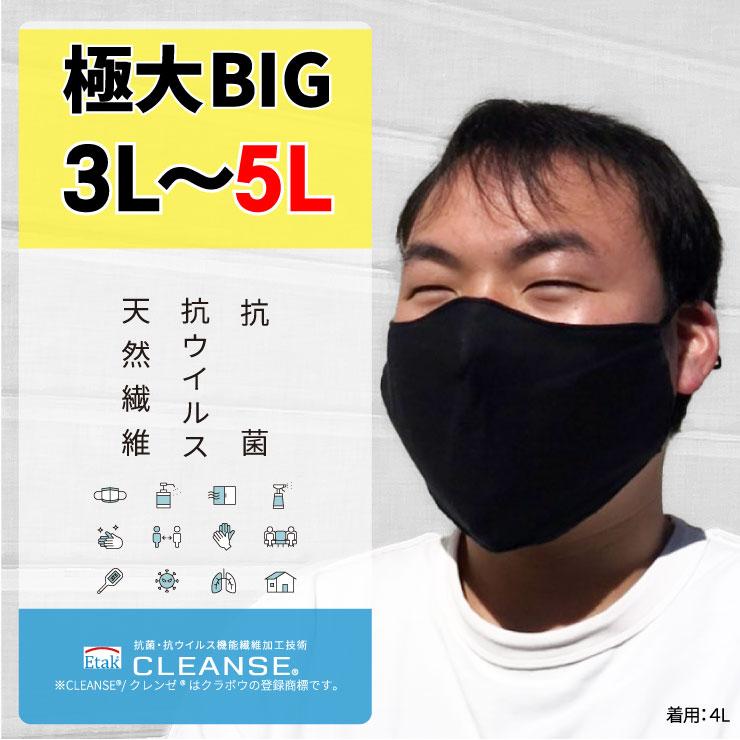 4L/3Lサイズ大きいマスク