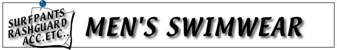 MEN'S SWIM WEAR