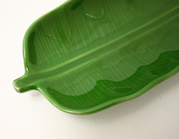 Tokiiro Quot Banana Leaf Plate S Dish Instrument Dinnerware