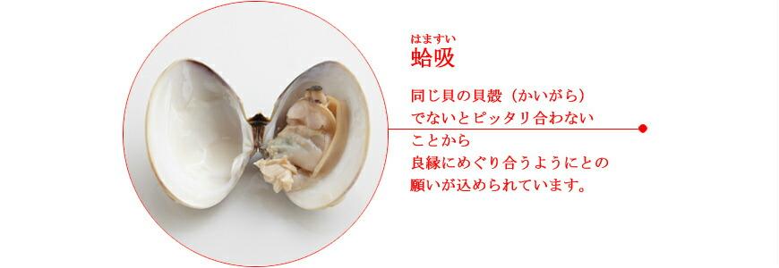 お食い初め膳 献立14蛤