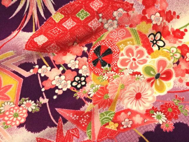 TOKOUAN: Kyo-一越 Crepe Paper Crane (purple) (mekari ...