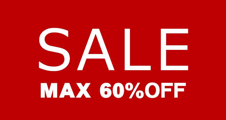 SALE MAX60%OFF