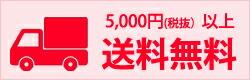 5000円以上 送料無料