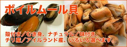 ボイルムール貝