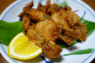 フロッグレッグ(食用カエル脚)調理例