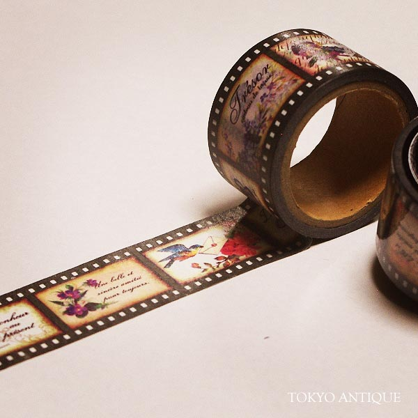 ネガフィルムマスキングテープ