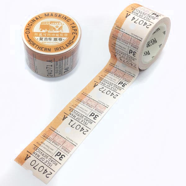 花の切手マスキングテープ