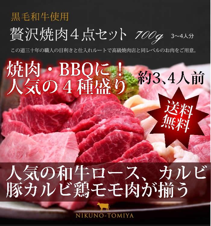 焼肉セット700g