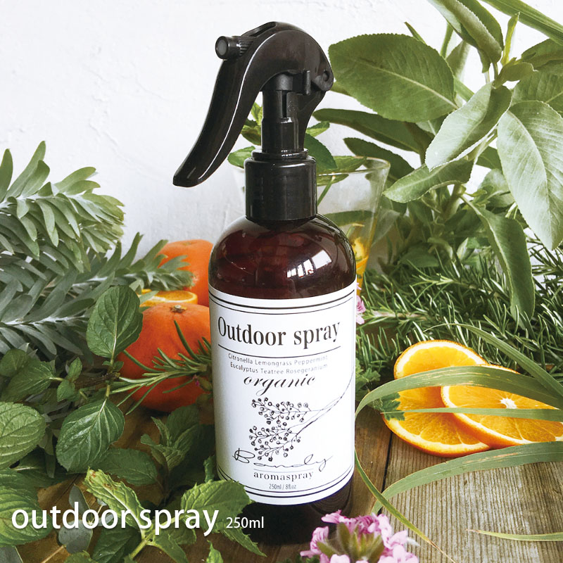 [100%天然成分][虫が嫌う香り]シトロネラ配合 天然アウトドアスプレー 250ml