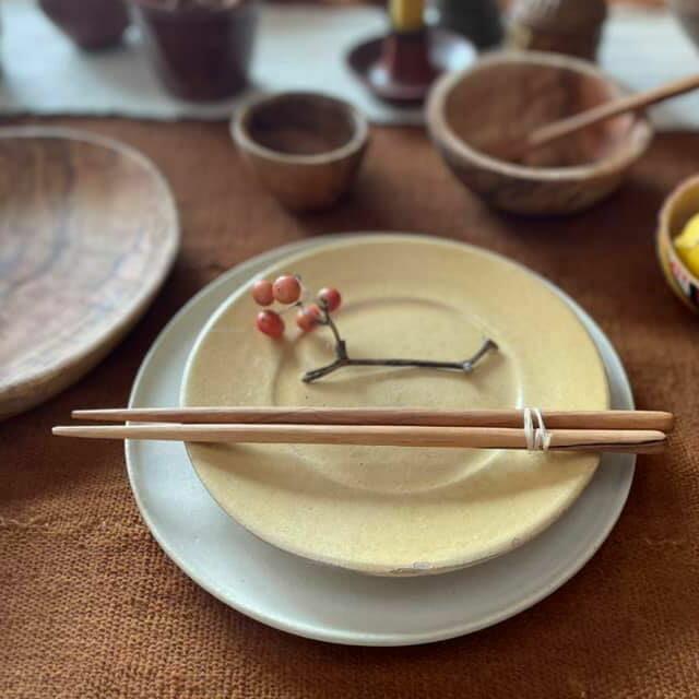 オリーブウッド 箸