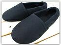 【学校用にも・締めつけ感ゼロ!】靴下感覚のふんわりルームシューズ/S〜3Lサイズ