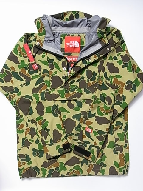 Supreme The North Face Expedition Pullover Jacket Camo Collaboration Jackets