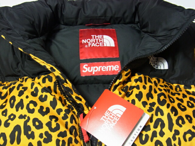 1c5186c7cb ... Leopard Print Down Jacket Supreme X North Face Nuptse Down Jacket OUT OF  STEP.net Product Information ...