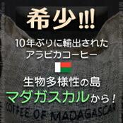 マダガスカル産高額2銘柄 ミマ ブルボン ナチュラル & カムカフィ ウォッシュド