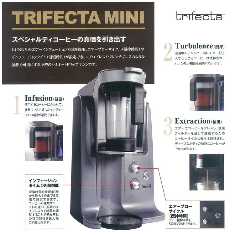 BUNN(バン)trifecta mini(バン トライフェクタ ミニ)
