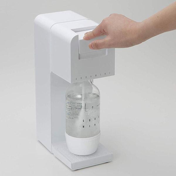 ご家庭で手軽に炭酸水が作れる炭酸水メーカー・ソーダミニ2